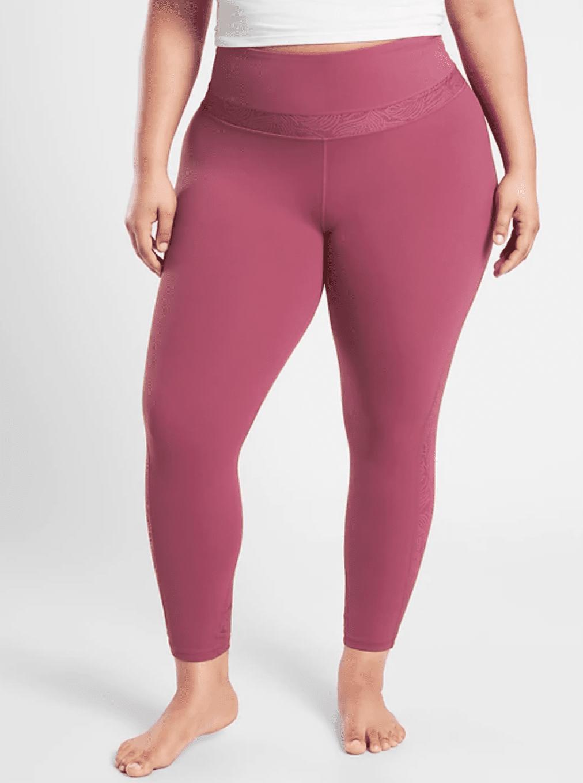 Athleta Luxe Lace Tight