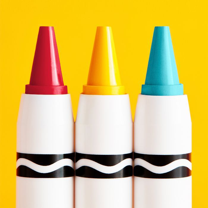 ASOS Crayola makeup review: set of three Crayola makeup crayons