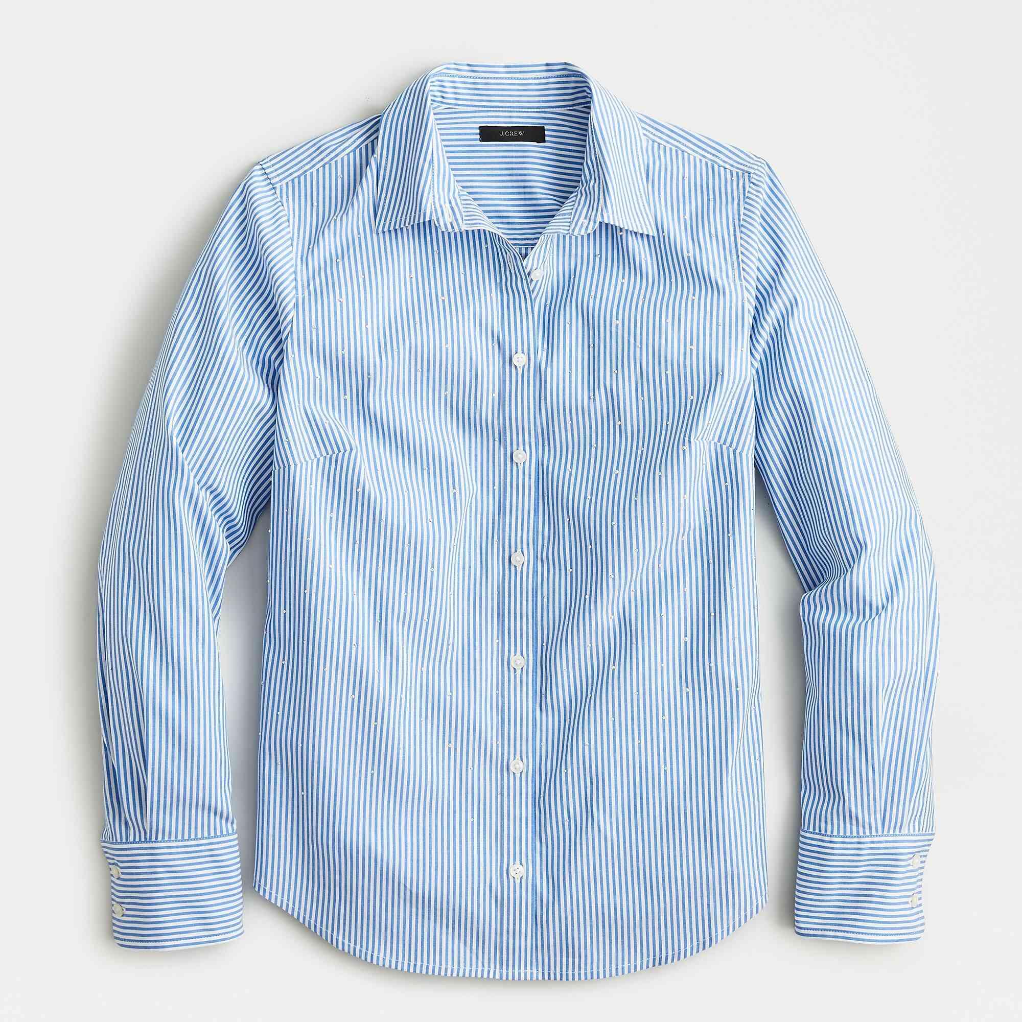 slim stretch perfect shirt in stripe