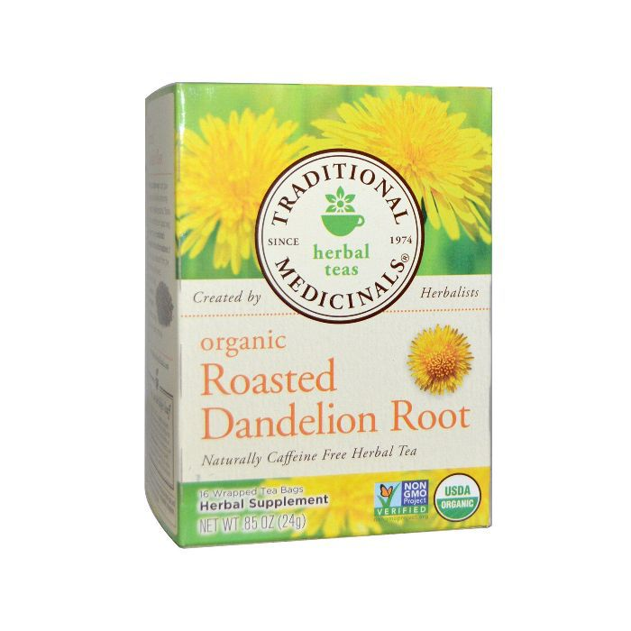 Traditional Medicinals Roasted Dandelion Root Tea