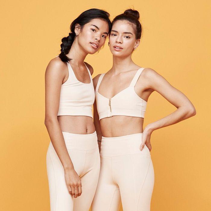 Women in active wear