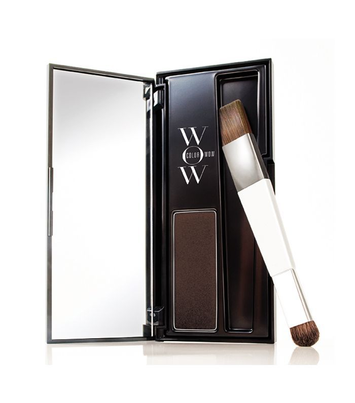 Root touch up: Color Wow Root Cover Up in Dark Brown
