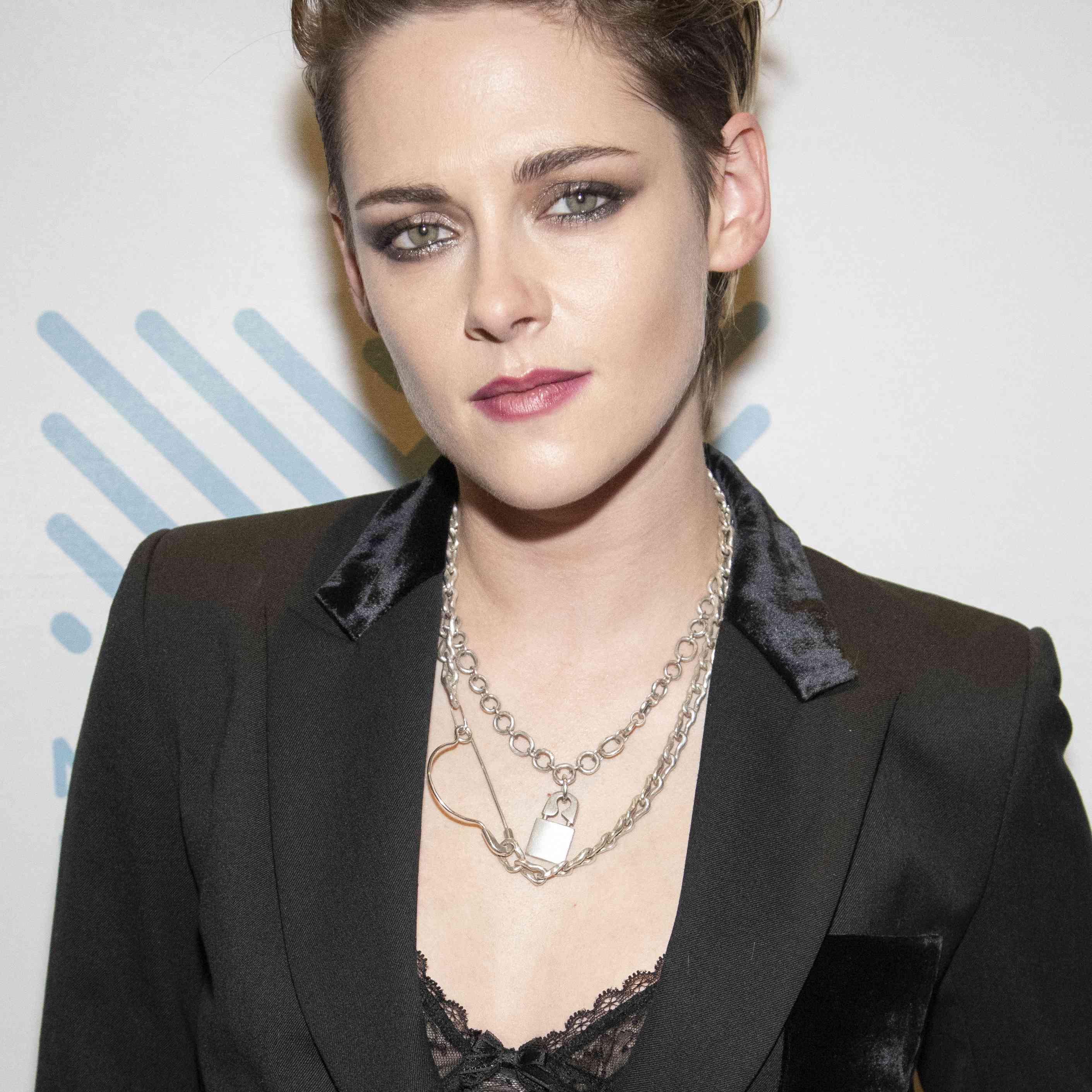 Kristen Stewart posing at the 42nd Mill Valley Film Festival