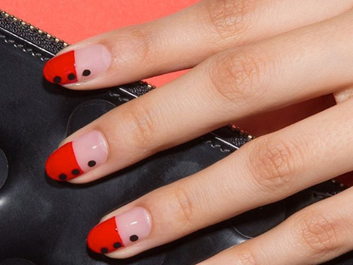 These Nail Designs Prove Black Red Are The Best Combo