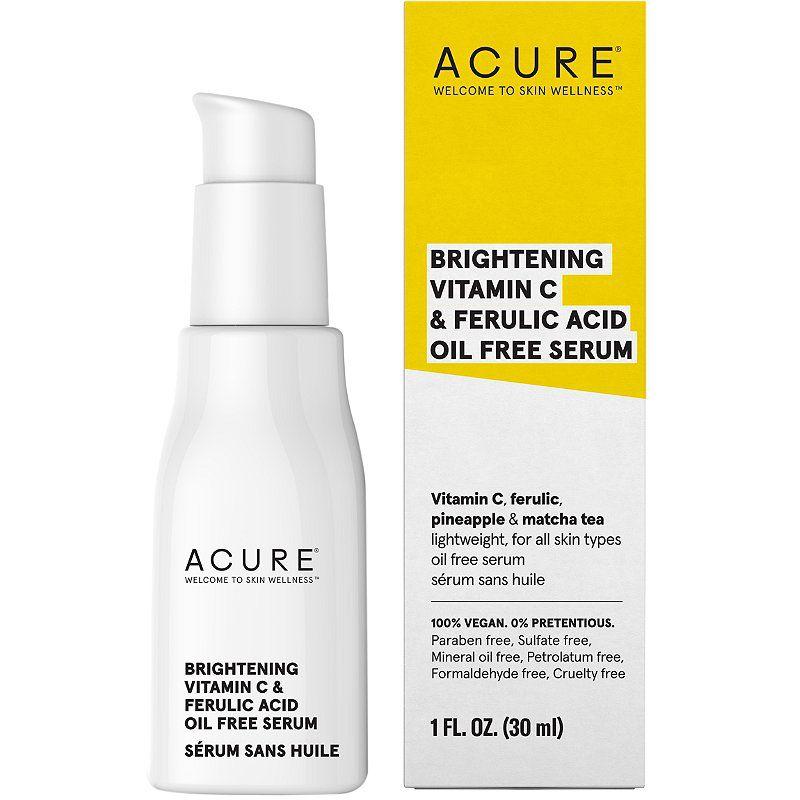 Acure Brightening Vitamin C & Ferulic Acid Oil-Free Serum
