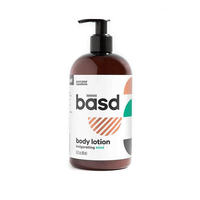 Basd Invigorating Mint Body Lotion