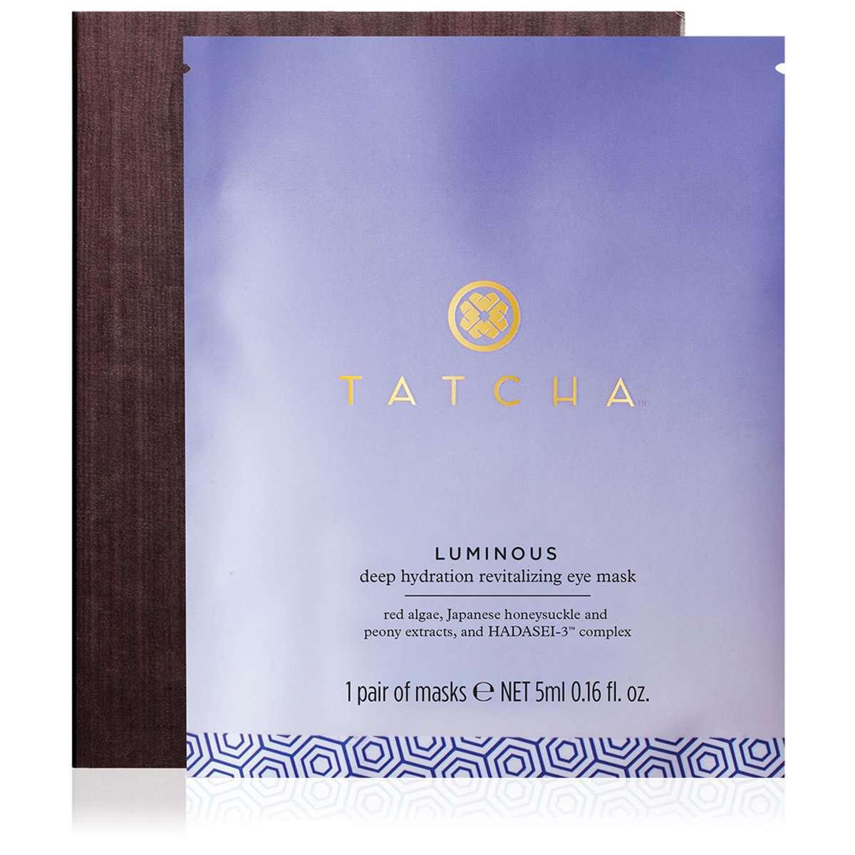 Tatcha Luminous Deep Hydration Revitalizing Eye Mask, 10 pack