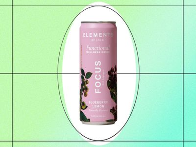 elements by lokai focus functional wellness drink