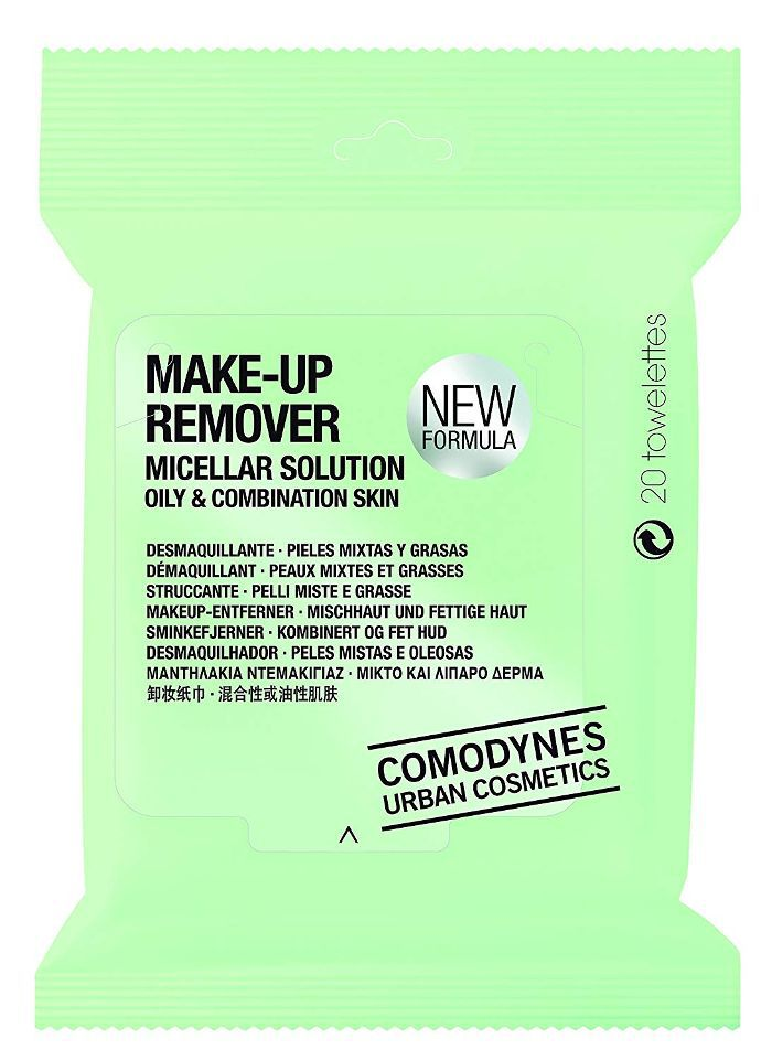 SkinActive Clean+ Refreshing Makeup Remover Wipes