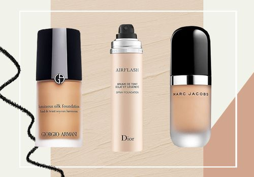 3 different foundations