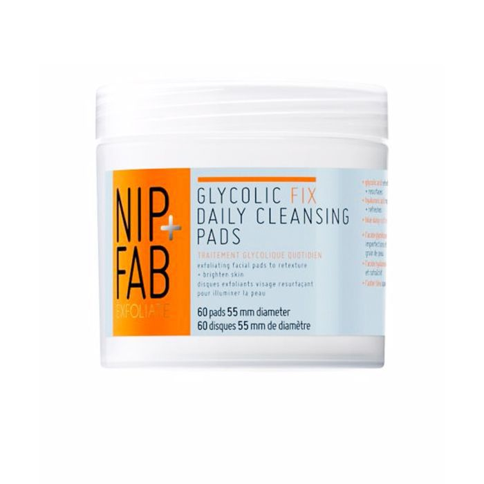 How to start your own beauty brand: Nip+Fab Glycolic Fix Daily Cleansing Pads