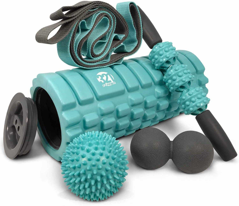 321 Strong 5-in-1 Foam Roller Set