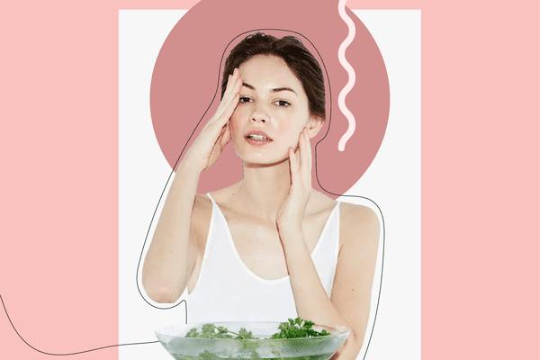 DIY steam facial