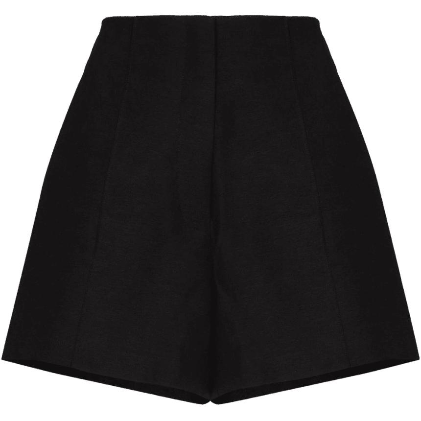 St. Agni Pierre High-Waist Shorts