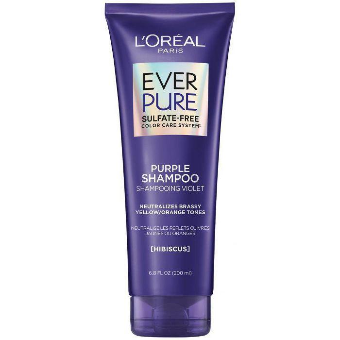 L'Oreal Paris EverPure Sulfate Free Purple Shampoo for Colored Hair