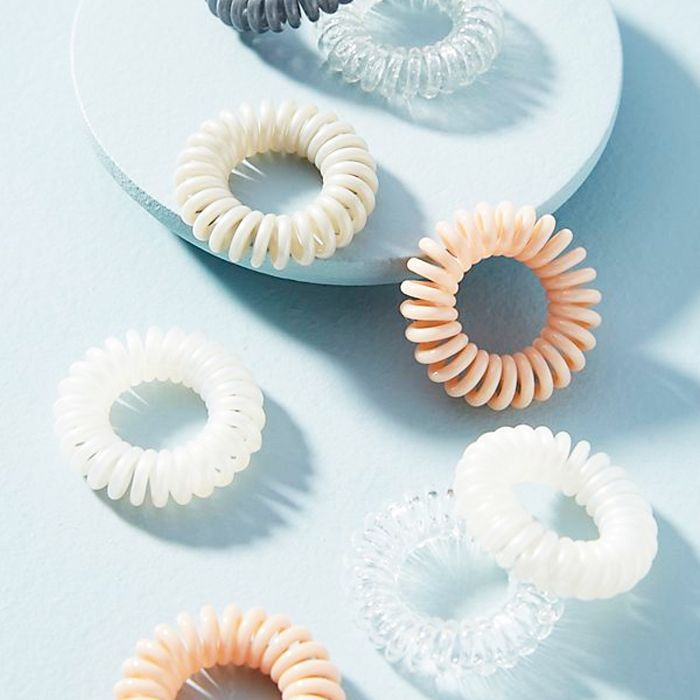 spiral hair ties: Anthropologie Mini Coiled Hair Tie Set