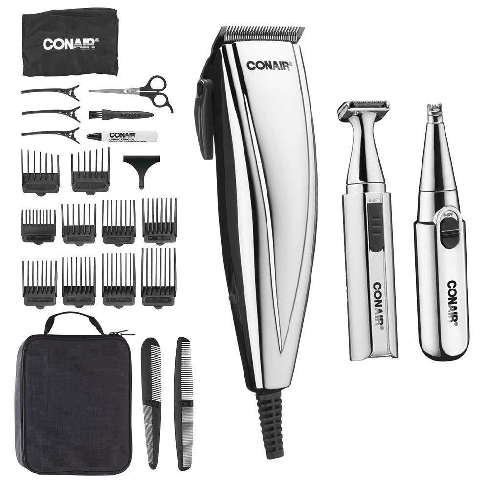 Conair MAN 3-in-1 Chrome Haircut Kit