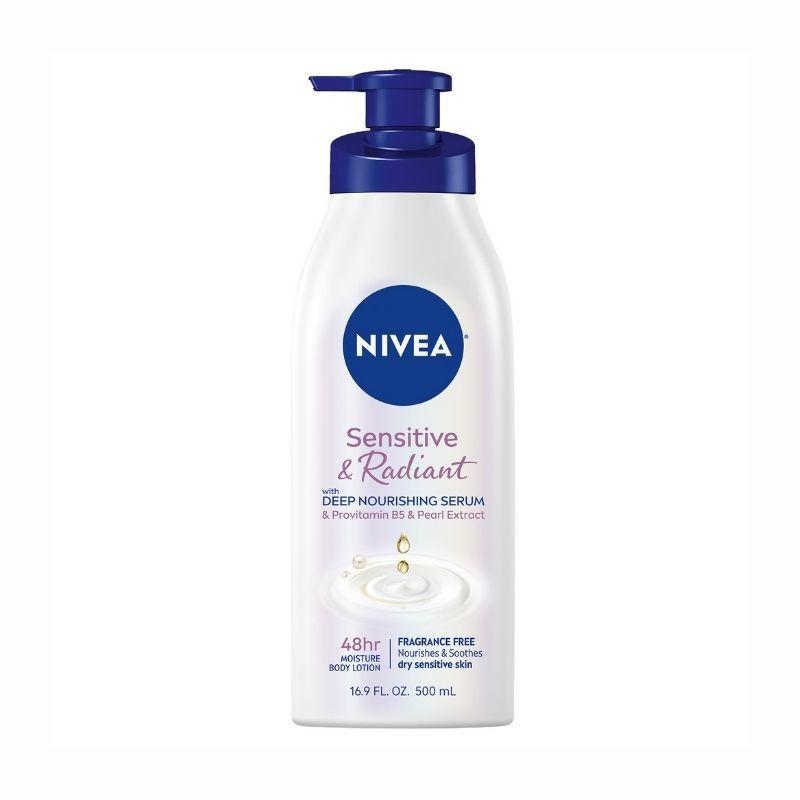 NIVEA Sensitive and Radiant Body Lotion