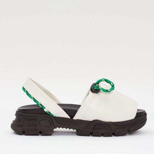 Goya Ice White Laces Sporty Sandal