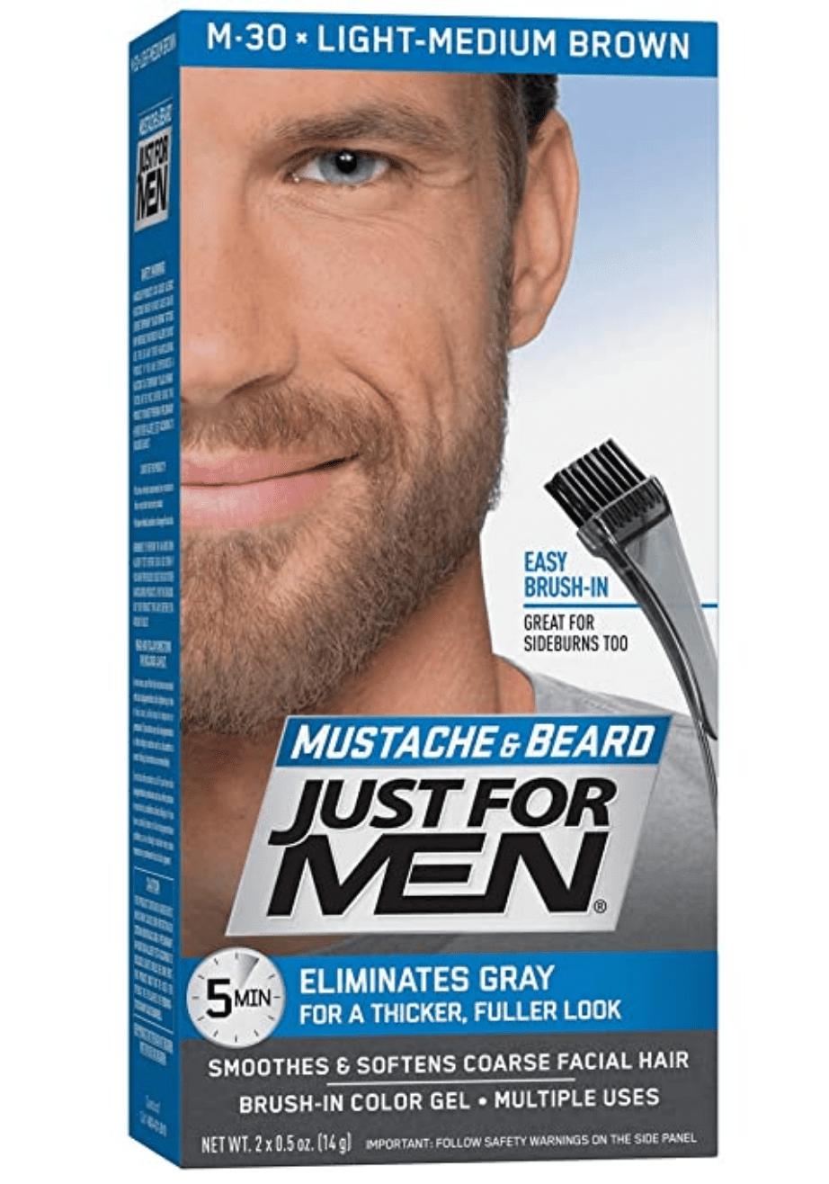 mustache and beard dye