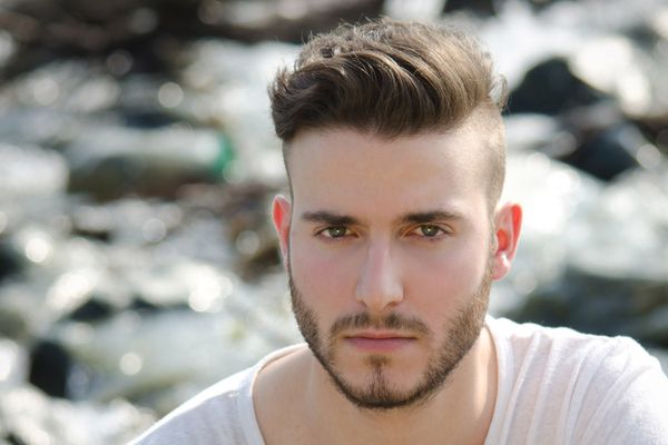 Pictures of Men\'s Haircuts With Short Sides and a Long Top