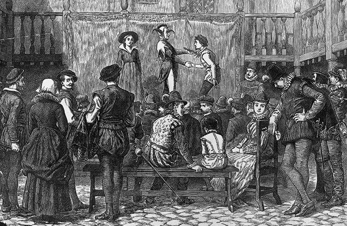 Stage actors in Elizabethan England