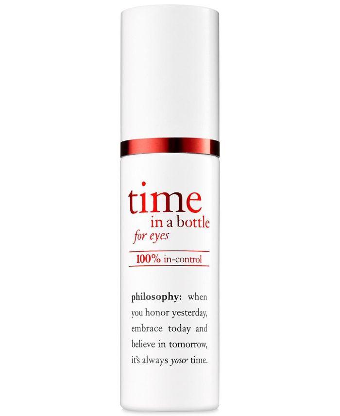 Time in a Bottle for Eyes 100% In-Control Repair-Renew-Resist Serum