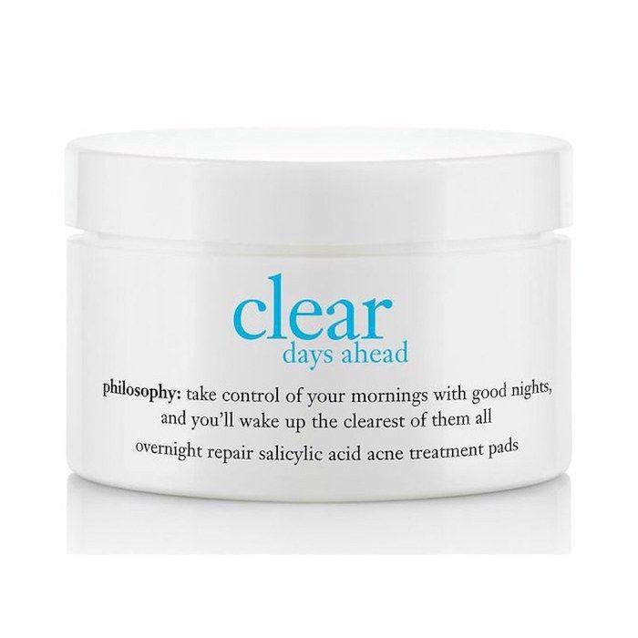 Clear Days Ahead(TM) Overnight Repair Salicylic Acid Acne Treatment Pads 60 Pads