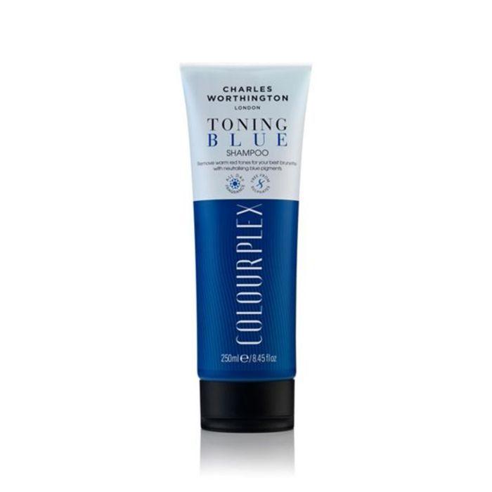 drugstore beauty launches 2018: Charles Worthington ColourPlex Toning Blue Shampoo