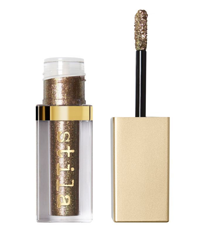 How To Liquid Metallic Eyes: Stila Cosmetics Magnificent Metals Glitter & Glow Liquid Eye Shadow in Fairy Tail