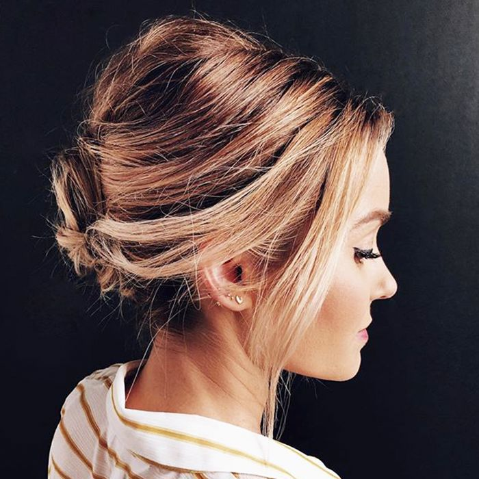 Easy Updos For Thin Hair: 15 Updos For Thin Hair That You'll Love