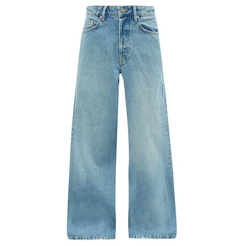 Stried Wide Leg Jeans