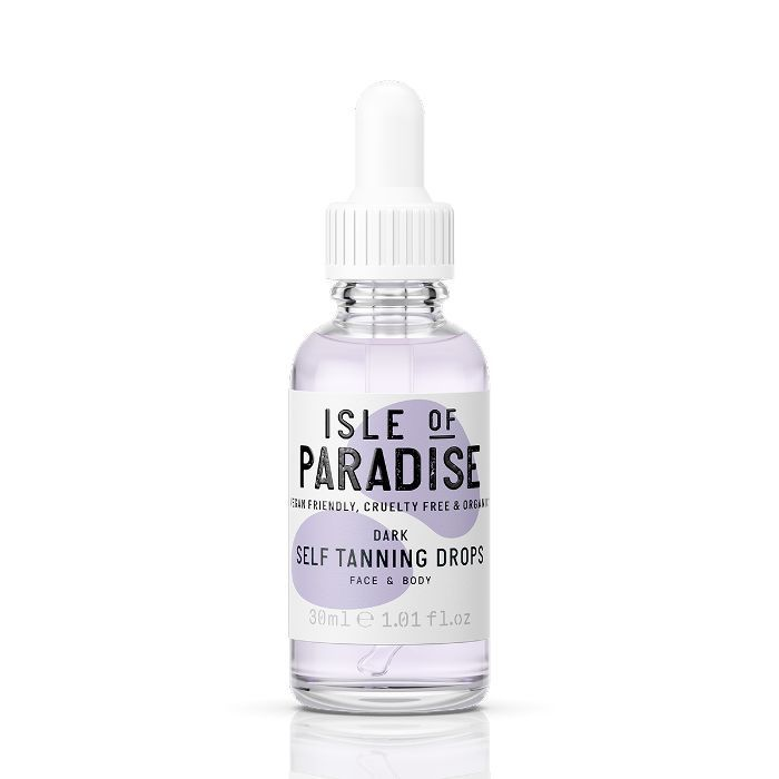 how to apply fake tan: Isle of Paradise Self Tanning Drops Dark