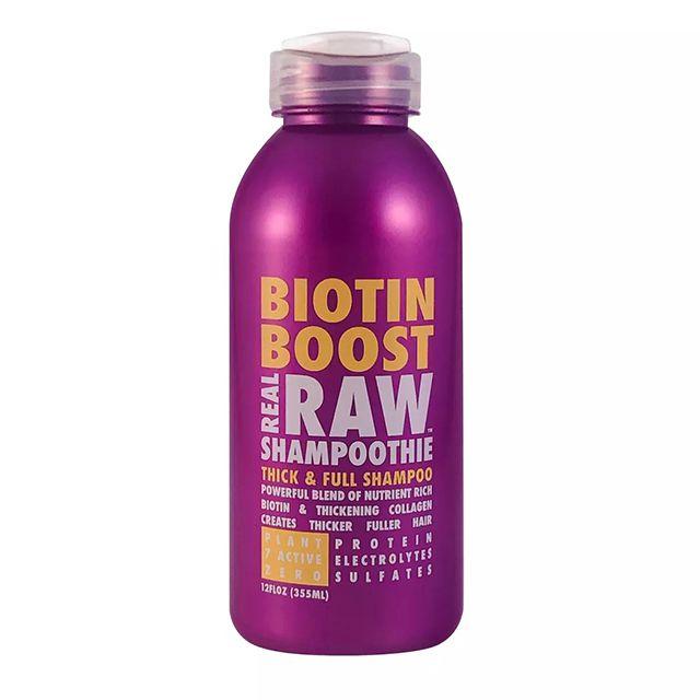 Real Raw Shampoothie Biotin Boost Thick & Full Shampoo