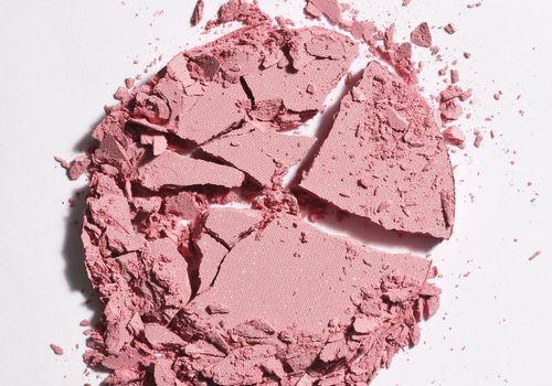 Shattered pink blush
