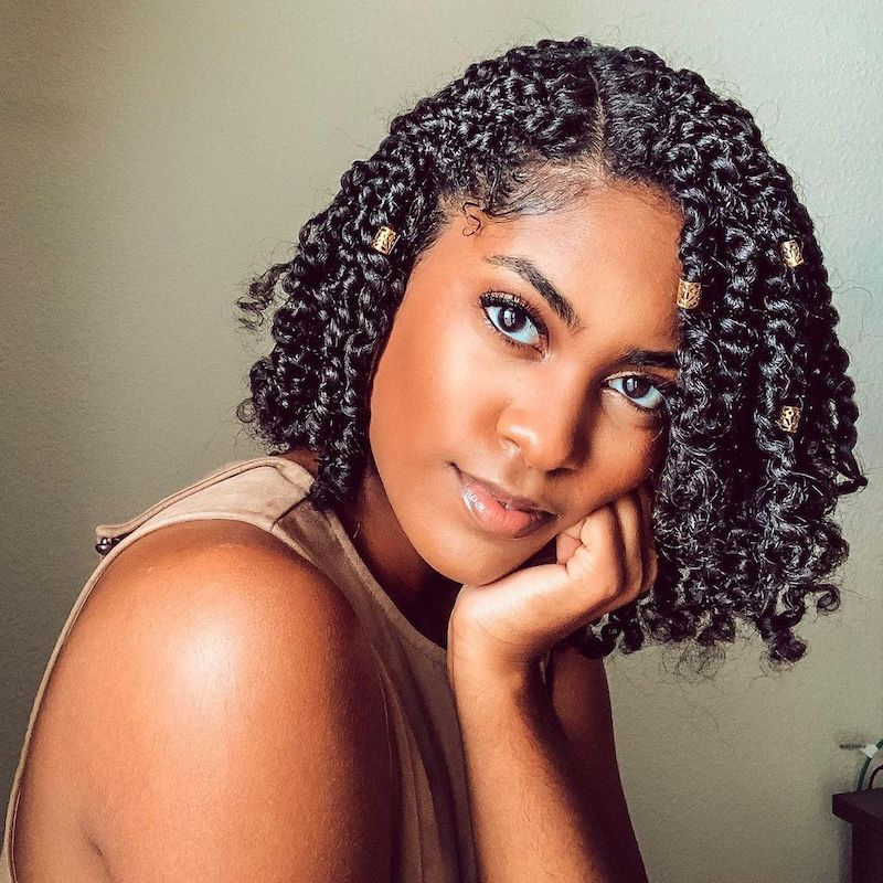 Protective Styles for Short Hair Candice