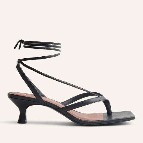 Selene Lace Up Kitten Heel Sandal ($248)