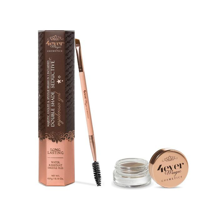 4Ever Magic Cosmetics Double Shade Eyebrow Gel and Brush