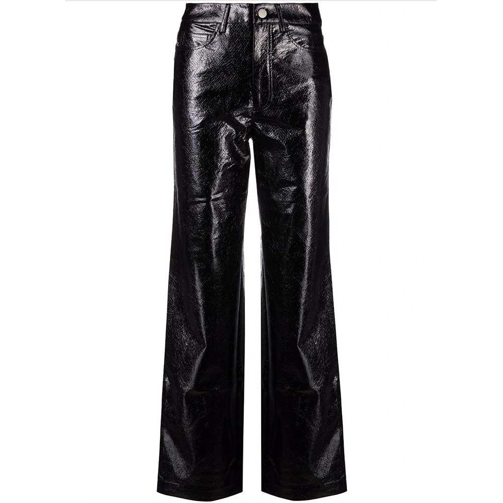 Rotie Faux Leather Trousers