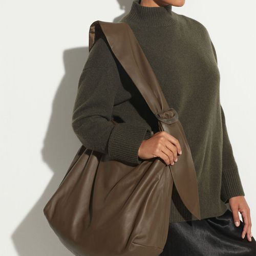 Fall Handbag Shapes Vince Leather Handbag