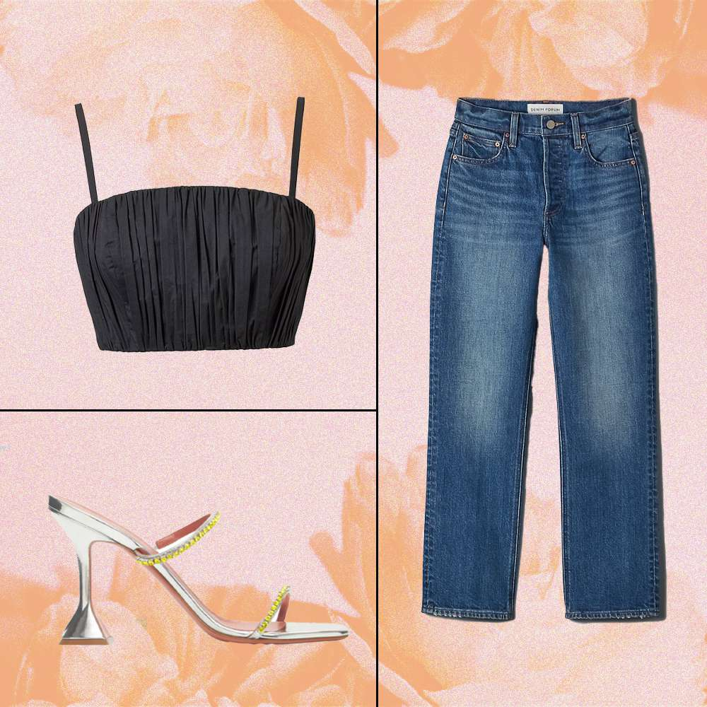 Dressed-Up Jeans Going Out Outfit