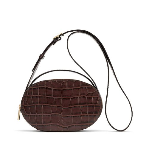 Fall Handbag Shapes Cuyana Top Handle Crossbody Round Bag