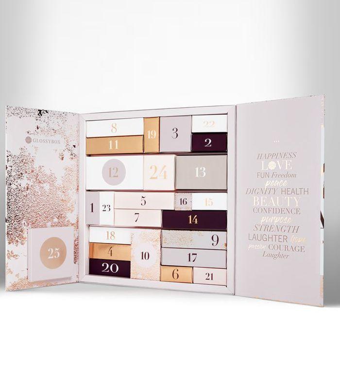 best beauty advent calendar 2018: Glossybox Beauty Advent Calendar