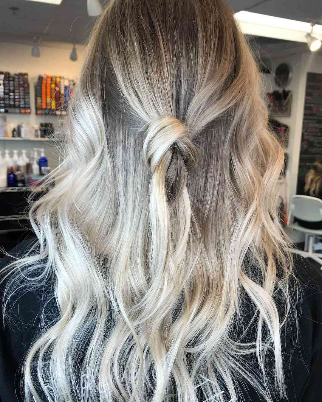 Icy Blonde Ombre