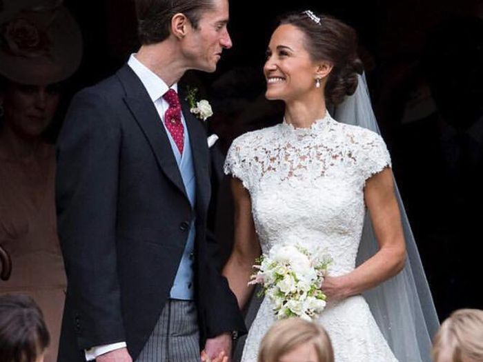 How to tone arms: Pippa Middleton on her wedding day
