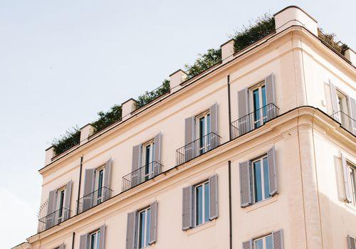 Italian apartment building