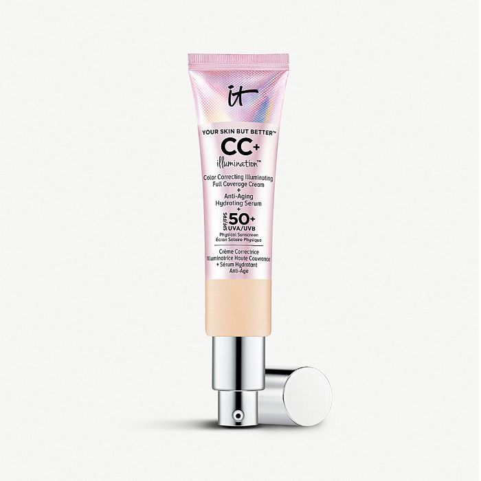 spring makeup: It Cosmetics Your Skin But Better CC+ Illumination SPF 50+ Cream