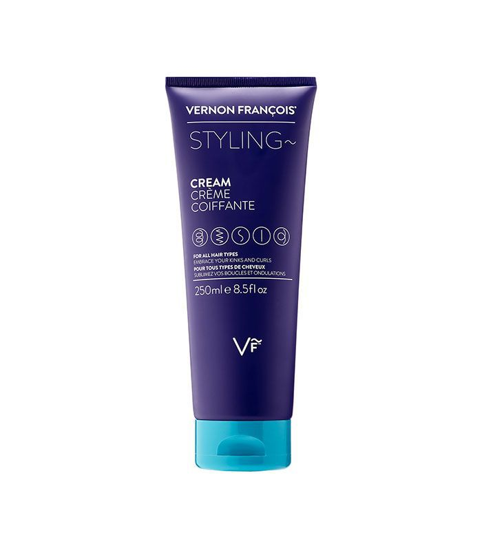 Vernon Francois Styling Cream - how to add volume to fine hair