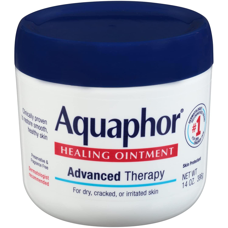 The jar of Aquaphor