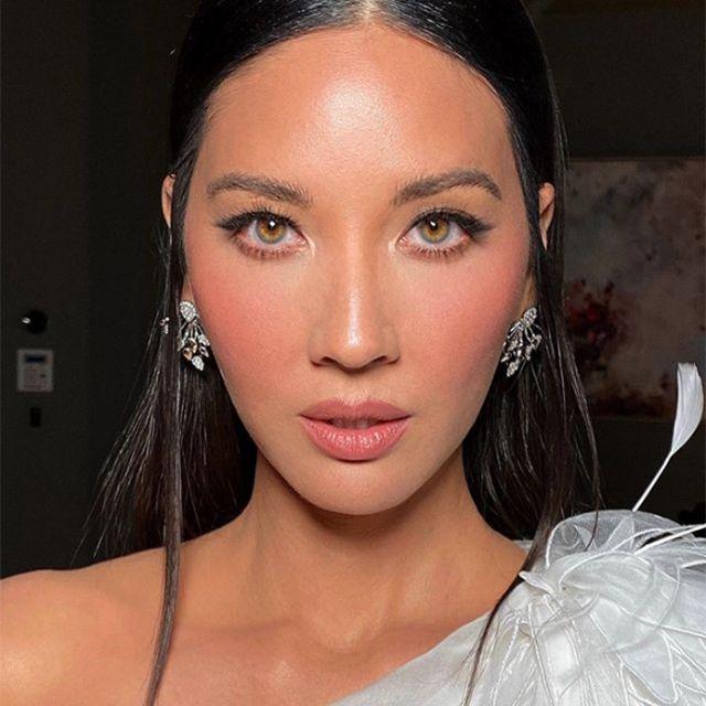 Olivia Munn natural makeup